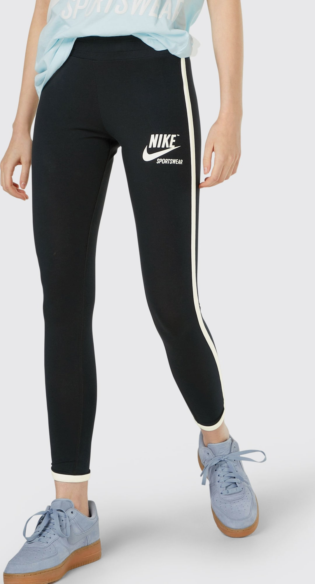 Nike Sportswear Leggings in schwarz   ABOUT YOU