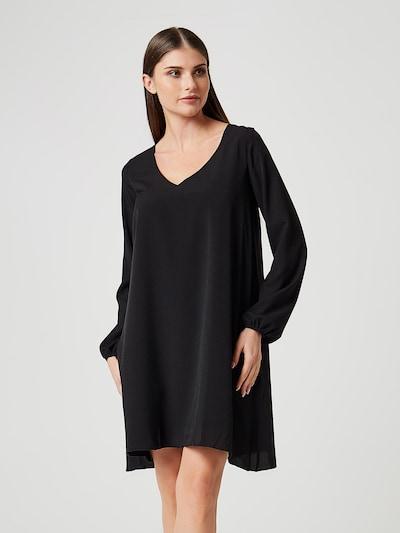 Usha Kleid 'Black Label' in schwarz, Modelansicht