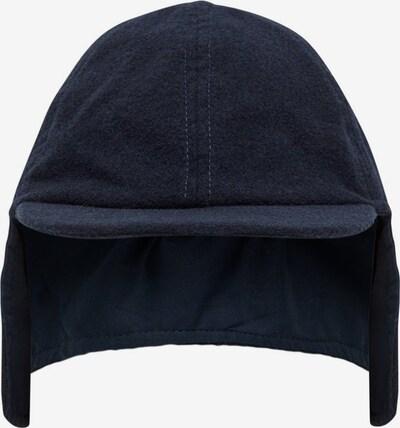NAME IT Wollmischfaser Cap in blau, Produktansicht