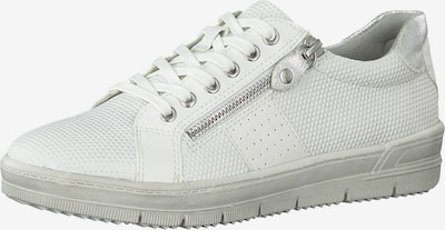 TAMARIS Sneaker in silber / weiß, Produktansicht