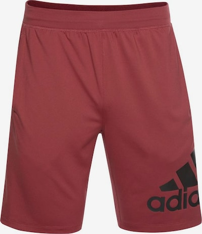 ADIDAS PERFORMANCE Funktionsshorts '4K_SPORTLEVEL A BOS 9' in bordeaux, Produktansicht