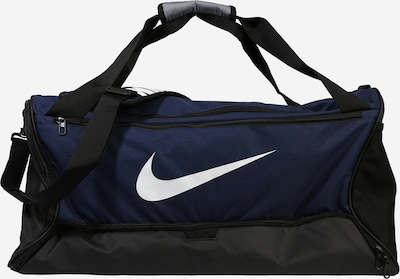 NIKE Sports bag 'BRSLA M DUFF - 9.0' in navy / white, Item view