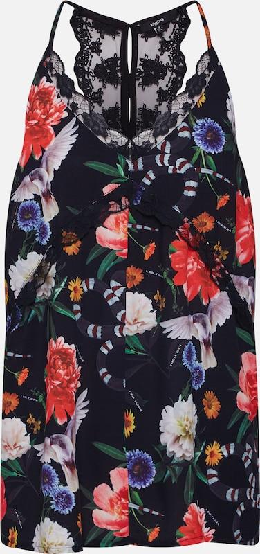 'anouk Tigha Haut Flower' Noir En qzMpUSV
