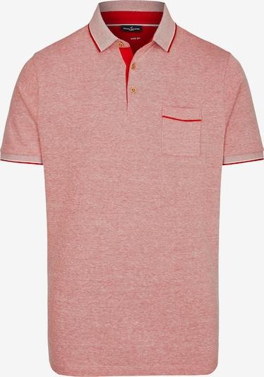 DANIEL HECHTER Poloshirt in dunkelrot / rotmeliert, Produktansicht