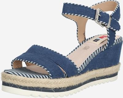 MTNG Sandalen met riem 'EDEN' in de kleur Sand / Donkerblauw, Productweergave