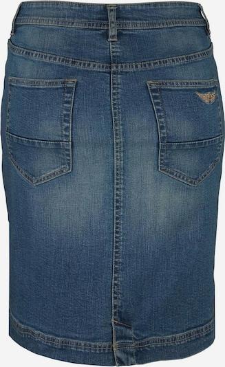 ARIZONA Jeansrock mit Knopfleiste in blue denim, Produktansicht