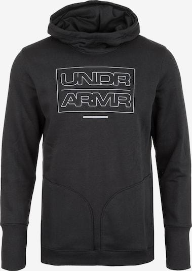UNDER ARMOUR Sweatshirt in schwarz: Frontalansicht