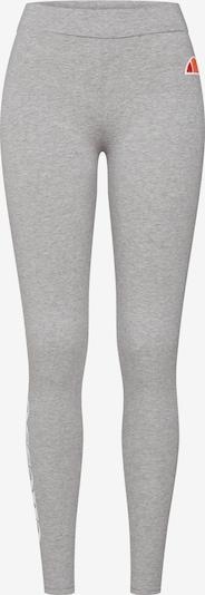 ELLESSE Leggings 'Solos 2' in grau / weiß, Produktansicht