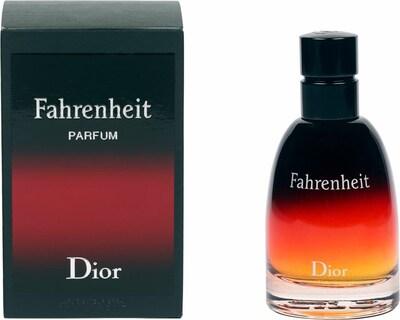 Dior 'Fahrenheit' Eau de Parfum in dunkelrot / schwarz, Produktansicht