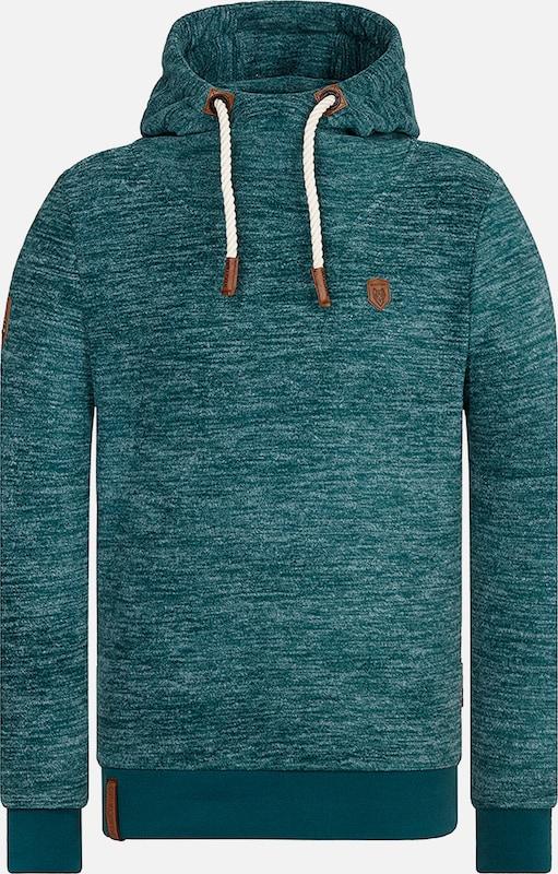 Naketano Sweatshirt in smaragd  Großer Rabatt