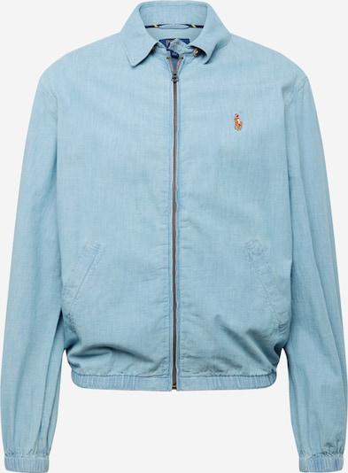 POLO RALPH LAUREN Jacke 'BAYPORT WB-COTTON-JACKET' in blau, Produktansicht