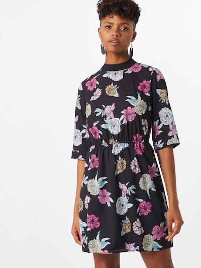 Trendyol Letné šaty - zmiešané farby / čierna: Pohľad spredu