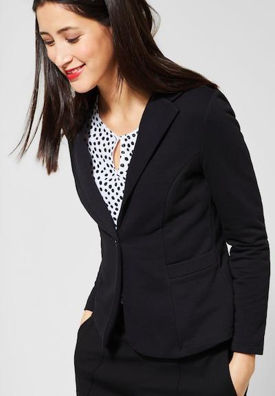 STREET ONE Blazer 'Hanni' in schwarz, Modelansicht