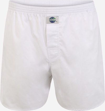 D.E.A.L International Boxers 'Chambray' en blanc, Vue avec produit