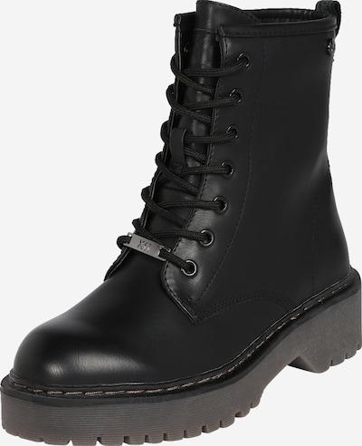 Xti Schnürstiefelette in schwarz, Produktansicht