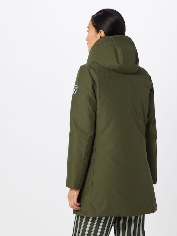 The Duck In 'cappotto Olijfgroen Save Cappuccio' Winterparka v0N8nOywm