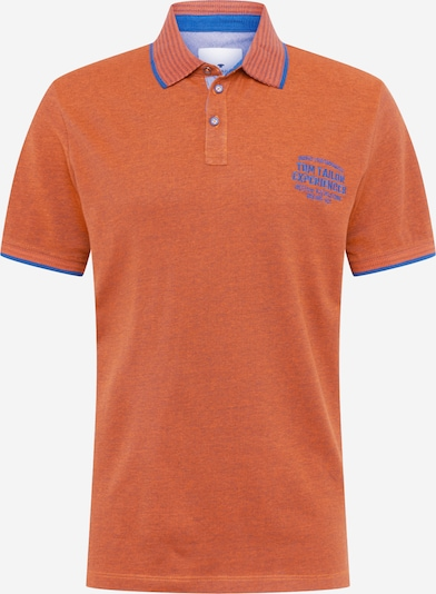 TOM TAILOR Poloshirt in royalblau / orange, Produktansicht