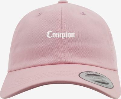 Mister Tee Dadcap 'Compton' in grau / hellpink / weiß, Produktansicht
