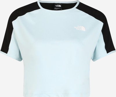 THE NORTH FACE Functioneel shirt 'Active Trail' in de kleur Lichtblauw / Zwart, Productweergave