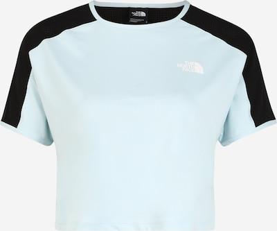 THE NORTH FACE Koszulka funkcyjna 'Active Trail' w kolorze jasnoniebieski / czarnym, Podgląd produktu
