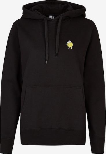 Cleptomanicx Sweatshirt in schwarz, Produktansicht