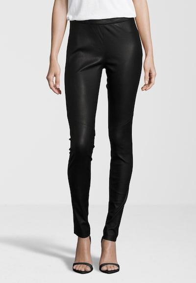 Gipsy Lederhose 'G2GAlara SF LNS' in schwarz, Modelansicht
