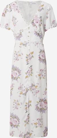 GLAMOROUS Kleid in Weiß