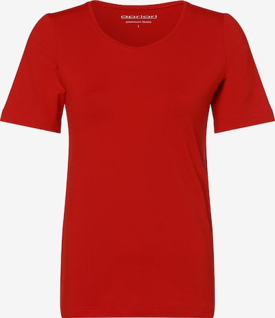 apriori T-Shirt in rot, Produktansicht
