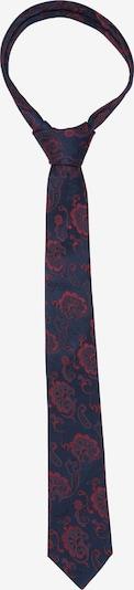 SEIDENSTICKER Krawatte 'Schwarze Rose' in dunkelblau / rot, Produktansicht