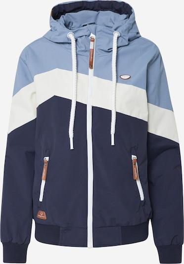 Ragwear Jacke 'NUGGIE BLOCK' in creme / navy / hellblau, Produktansicht