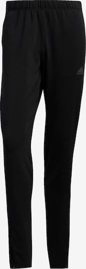 ADIDAS PERFORMANCE Sportbroek in de kleur Zwart / Wit: Vooraanzicht