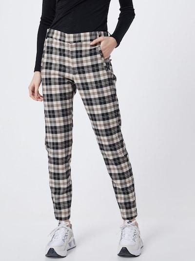 Pantaloni 'JannahIW Pant Nica Fit' InWear pe negru / alb, Vizualizare model