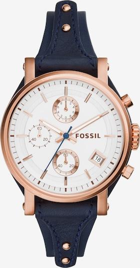 FOSSIL Chronograph 'Original Boyfriend' in marine / rosegold, Produktansicht