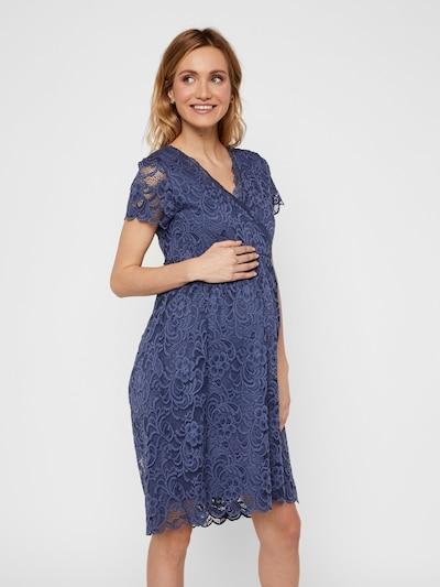 MAMALICIOUS Umstandskleid in blau, Modelansicht
