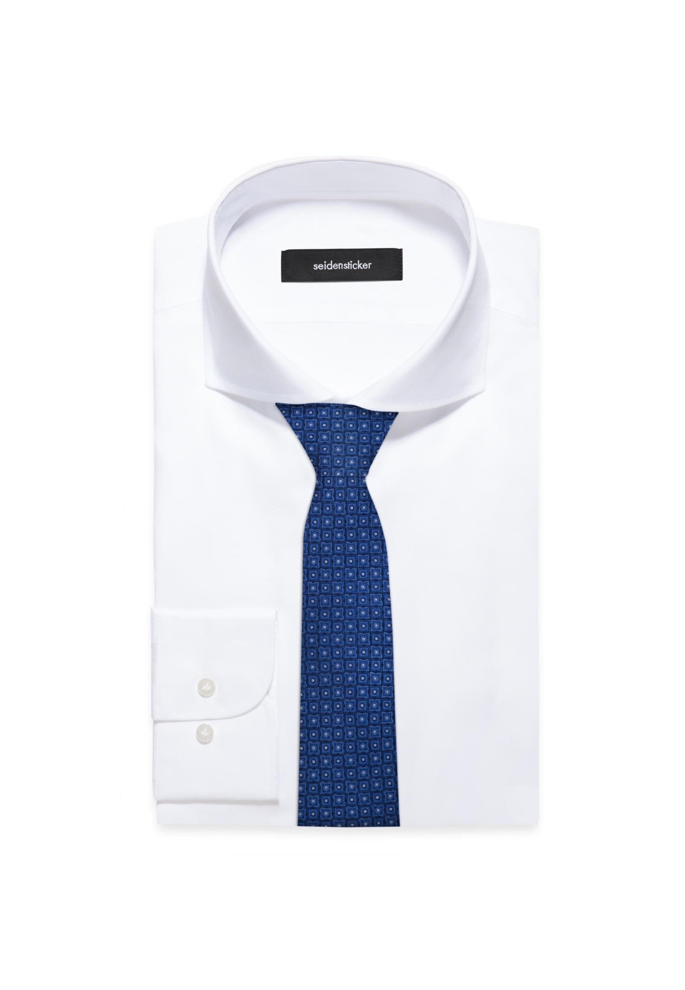 Blau Schwarze In Rose Krawatte ' Seidensticker TKF1c3ulJ
