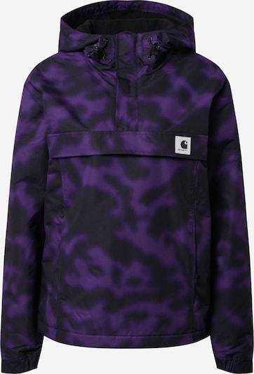Carhartt WIP Prehodna jakna 'Nimbus' | lila / črna barva, Prikaz izdelka