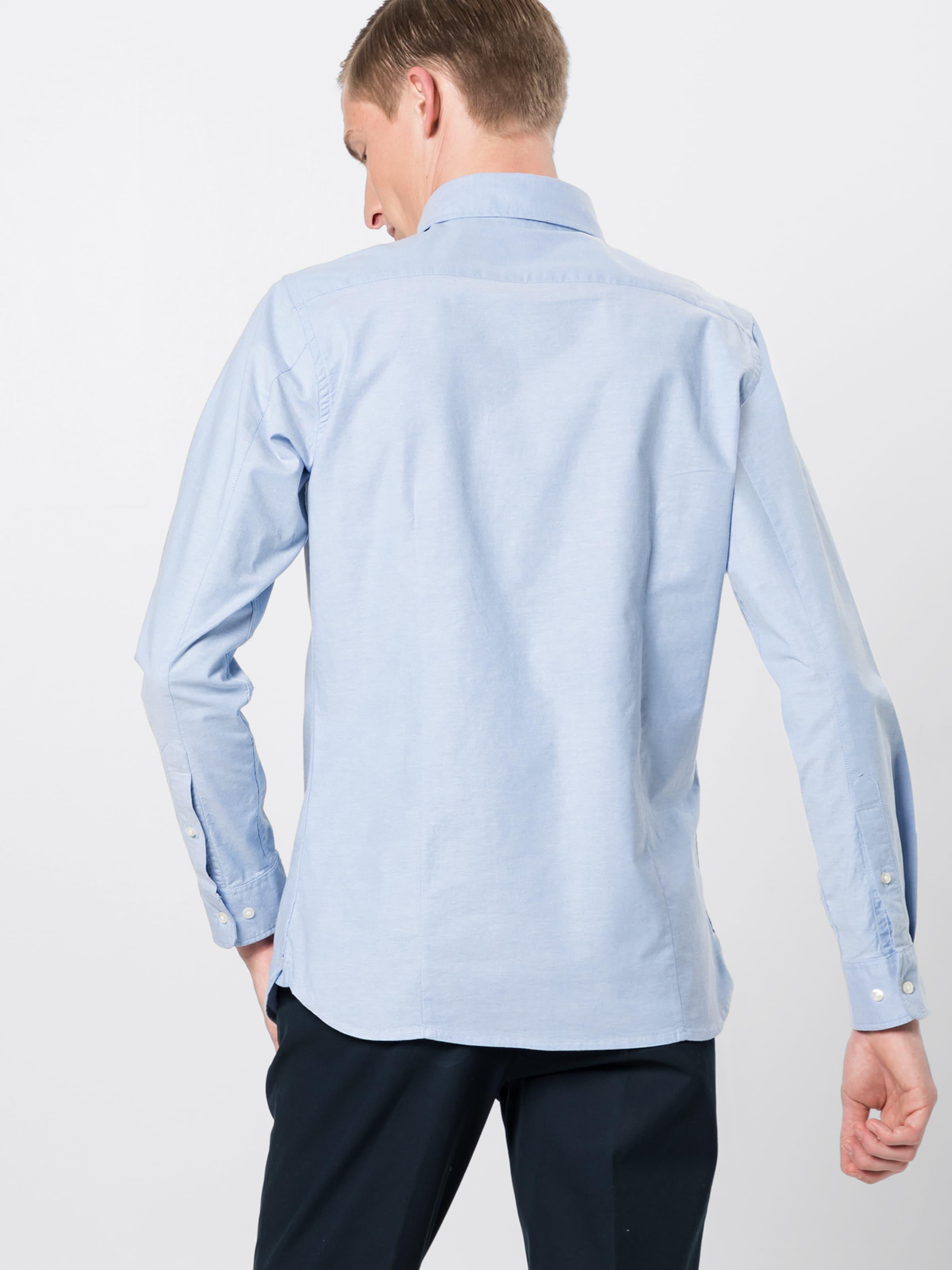Oxford 'strethced Knowledgecotton Hemd Hellblau Apparel In Shirt' Aj5RS3qcL4