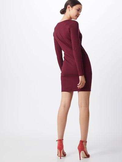 IVYREVEL Obleka 'V FRONT DRESS'   burgund barva: Pogled od zadnje strani
