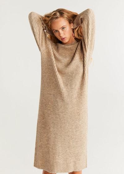 MANGO Kleid 'Soul' in cappuccino, Modelansicht