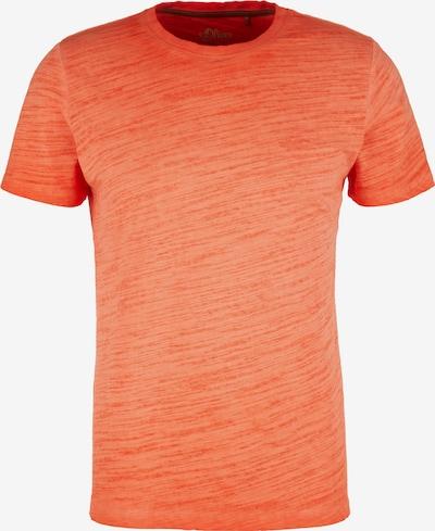 s.Oliver T-Shirt in orangemeliert, Produktansicht