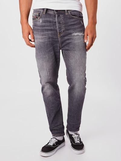 DIESEL Jeans 'D-VIDER' in blue denim: Frontalansicht