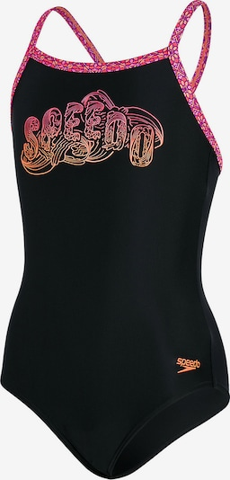 SPEEDO Badeanzug 'Candybounce' in pink / schwarz, Produktansicht