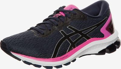 ASICS Chaussure de course 'Gt-1000 9' en rose foncé / noir / blanc, Vue avec produit