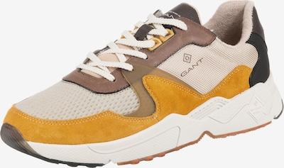 GANT Sneaker 'Portland' in creme / braun / goldgelb, Produktansicht