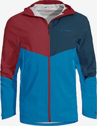 VAUDE Jacke ' Simony Jacket III ' in blau / rot, Produktansicht