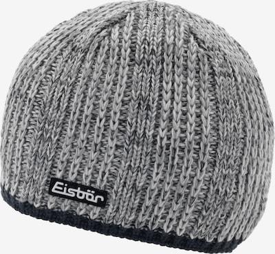 Eisbär Mütze in graumeliert / schwarz, Produktansicht