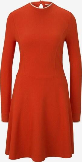 TOM TAILOR DENIM Kleid in orangerot, Produktansicht