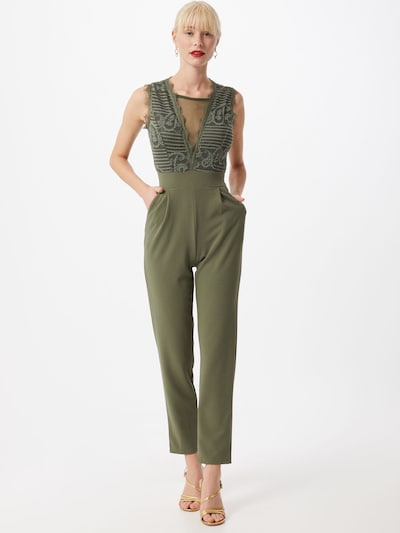 WAL G. Jumpsuit in khaki, View model