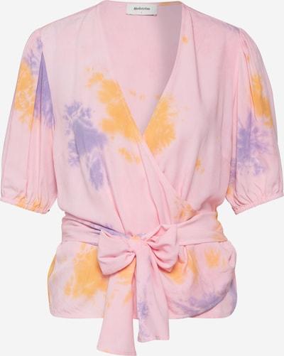 modström Shirt 'Cello' in mischfarben / rosa, Produktansicht