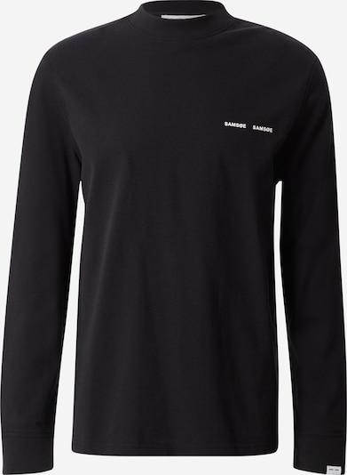 Samsoe Samsoe Shirt 'Norsbro' in de kleur Zwart, Productweergave